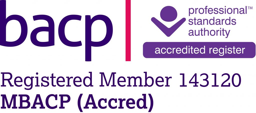Accredited Member of the British Association of Counselling and Psychotherapy
